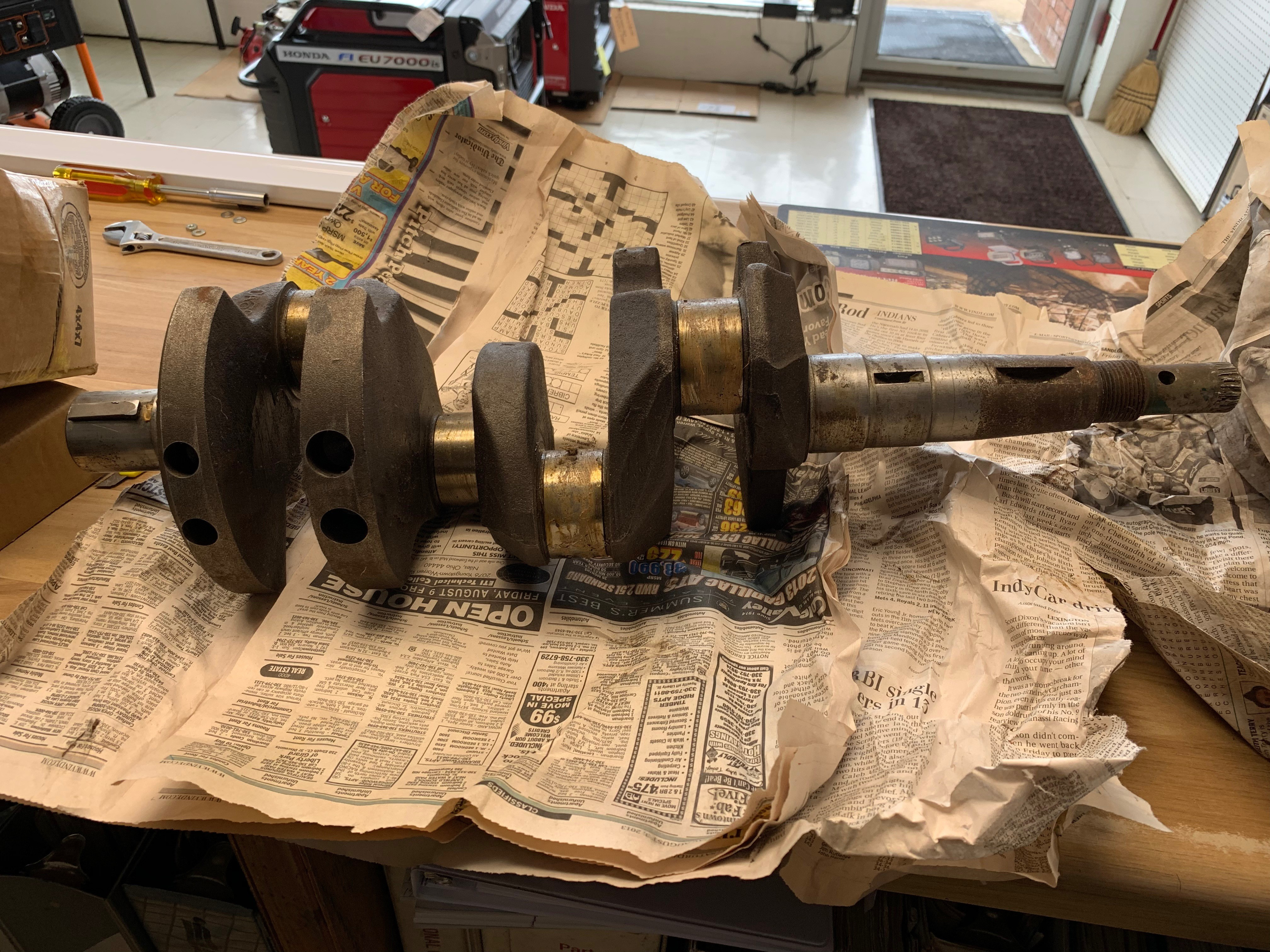 (USED) WISCONSIN CRANKSHAFT VH4D/VG4D (QTY1)